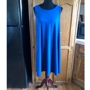 NWT Old Navy Blue Tee Shirt Swing Dress Size XXL